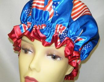 Belle of USA Shower Cap.