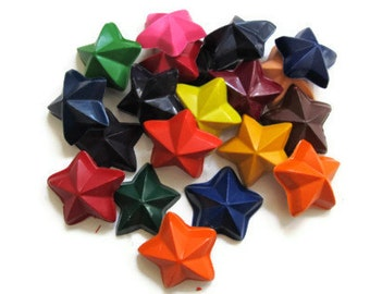 Star Crayons set of 50 - party favors