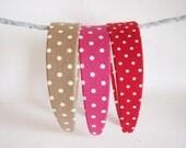 NO.429 430 431-  colorful polkadot headband
