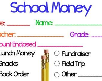 School Money Note