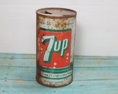 7 Up Tin Soda Can