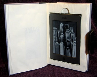 Custom Hardcover Book Case - Kindle Fire - Kindle Touch - Kindle Case - Nook Case - iPad Mini - Kobo Case - Nexus 7 - Samsung Galaxy