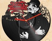 vinyl wall clock - King Diamond