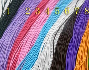 1mm  Elastic  Cord   Bracelet   Mala  Making  ----21yd----20m-----65Ft-----10 colors for choose