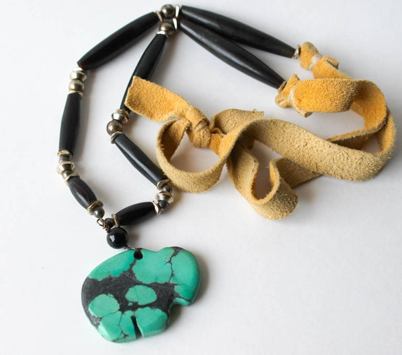 Bison Turquoise Necklace