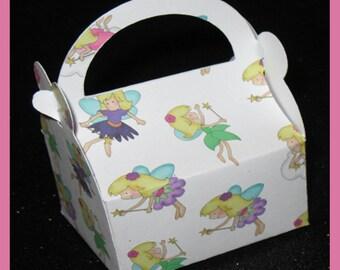 fairy party favor box, fairy shower favor box, fairy birthday favor box