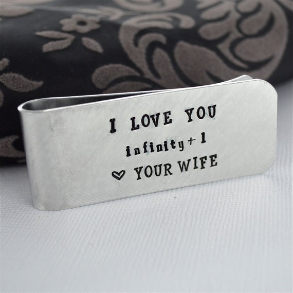 Etsy Wedding Gift For Husband : Items similar to Husband Gift Money Clip- Wedding Gift for Groom ...