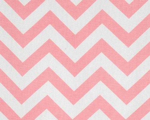 Light pink curtains pink chevron curtains by cathyscustompillows