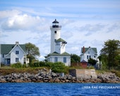 Tibbetts Point Light House, Fine Art Photography, Nature Scenery Landscape