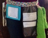 Cooking baking arts and crafts apron utility belt multi colored
