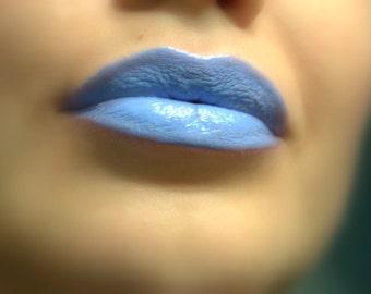 Permafrost - Light Blue Lipstick - Natural Gluten Free Fresh Handmade
