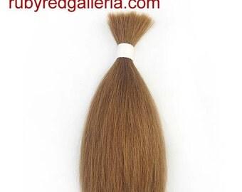 BD0008SP Light Brown Straight NuBorn Mohair 0.25 oz