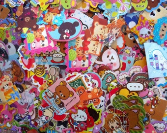 Kawaii Sticker Flakes 50 Cute stickers
