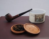 Mahogany Pipe Tobacco Travel Pouch (Baccyflap)