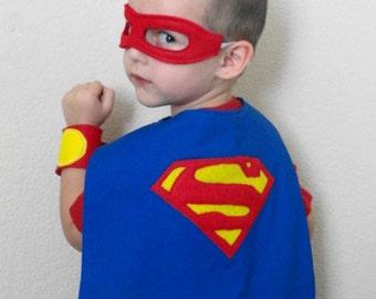 Kids Super Hero Cape - Superman/ Bat Man/ Robin/ Captain America