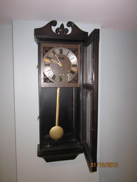 Items Similar To Vintage Rhythm 30 Day Wall Clock On Etsy