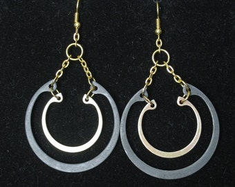 Industrial Parts Steampunk Earrings