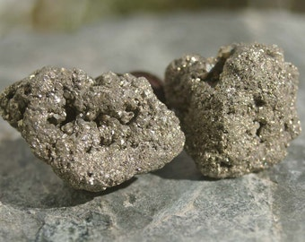 Cabinet Knobs -  Pyrite  - Set of 2
