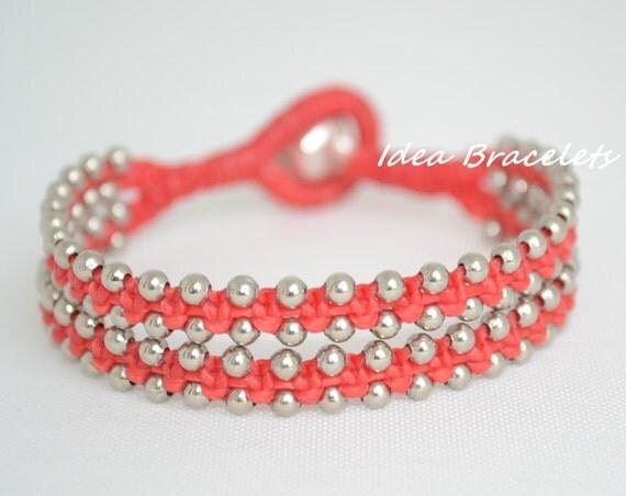 simple macrame bracelet instructions