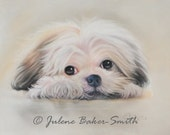 Cuteness: You Can't Help But Love Me Shih Tzu Dog Art Print