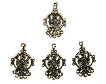 5Pcs bronze chandeliers MPA059