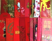 35 Assorted Lunar Chinese New Year Red Packets / Ang Pow / Hong Bao / Red Envelopes