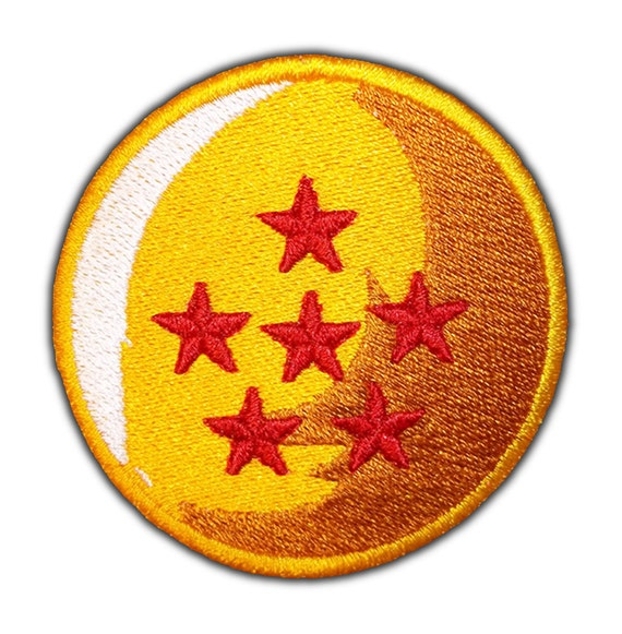 Dragon Ball 6 Star: Red Six Star Dragon Ball Patch By AffrayPatchworks On Etsy