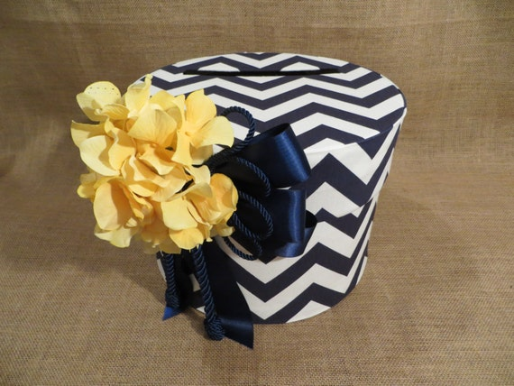 Nautical Wedding Gift Card Holder : colors Nautical Wedding Card Box, Wedding Money Box, Wedding Gift Card ...