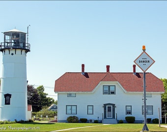 Chatham Lighthouse Cape Cod Landscape 12x18 Fine Art Print