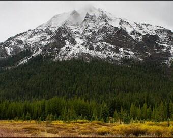Cooke City Mountains Yellowstone National Park Panorama Fine Art Print