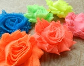 GIFT SET / Mix and Match Headbands and Clips Complete Set / Infant/Baby/Toddler/Little Girl Handmade Headband / Neon, Rainbow