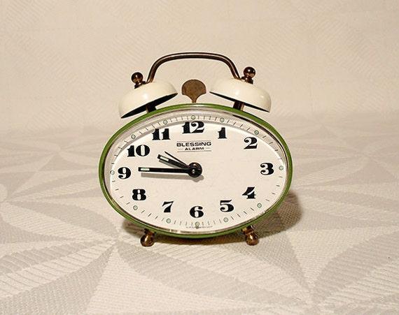 Vintage West German Blessing Alarm Clock