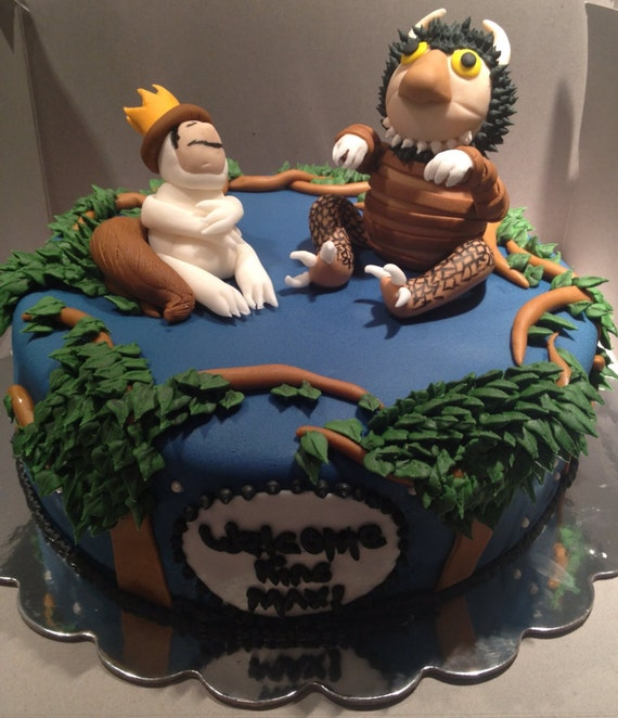 Where The Wild Things Are Inspired Cake Topper