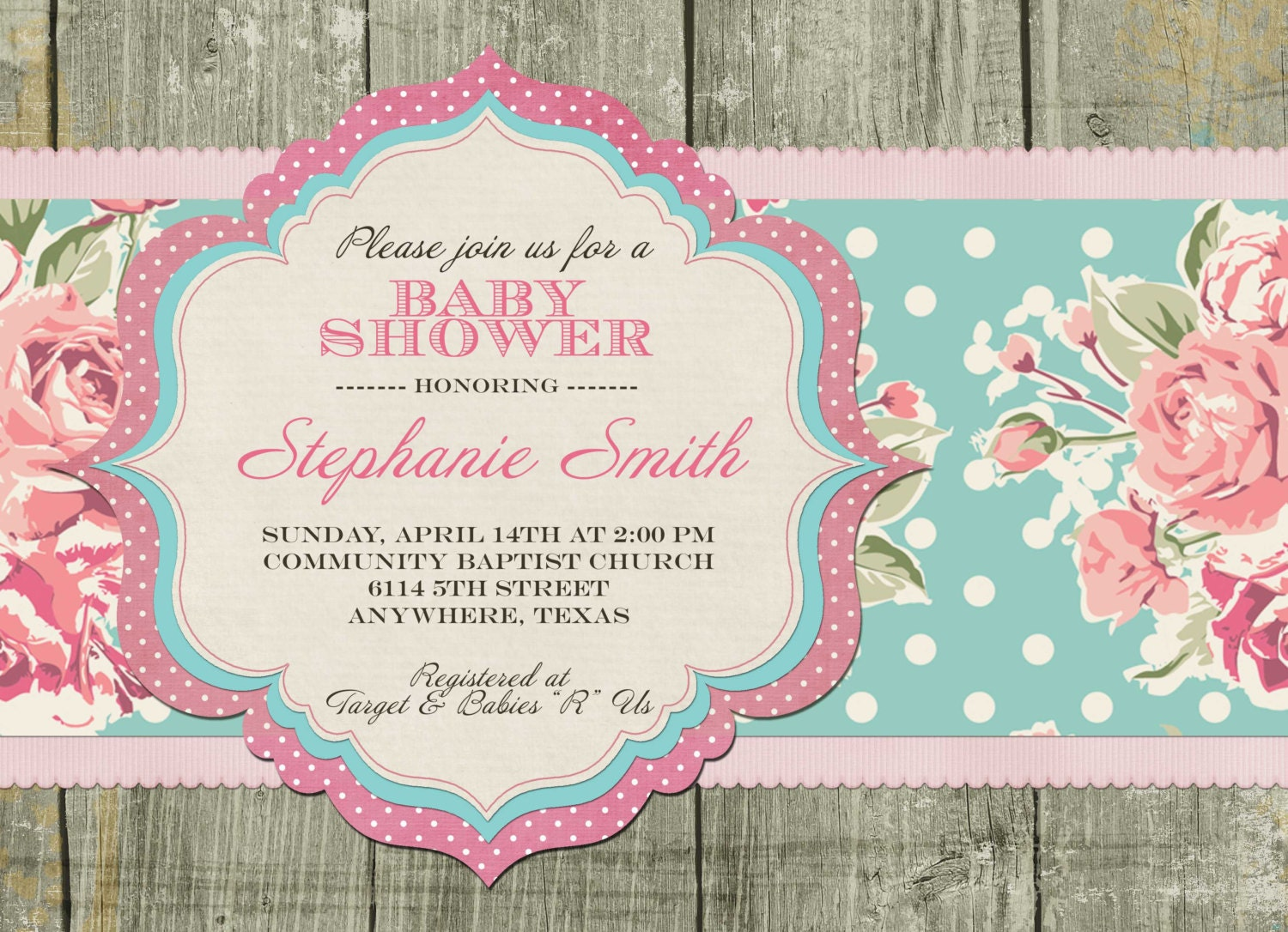 Vintage Alice In Wonderland Baby Shower Invitations is great invitations template