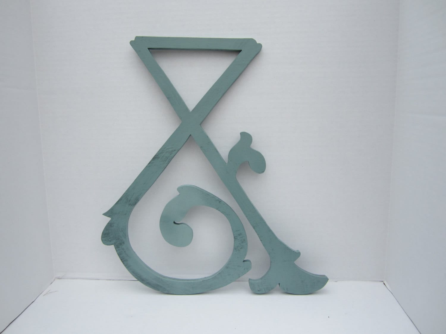 Ampersand wall letter sign shabby chic wedding decor for Ampersand decor
