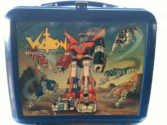 Retro - 'Voltron' Lunch Box - 1984 - Very Rare