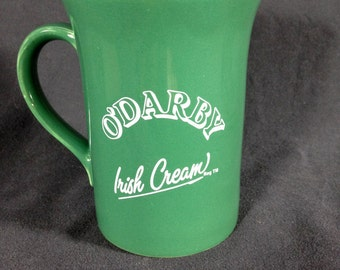 Vintage Green O'Darby Irish Cream Mug