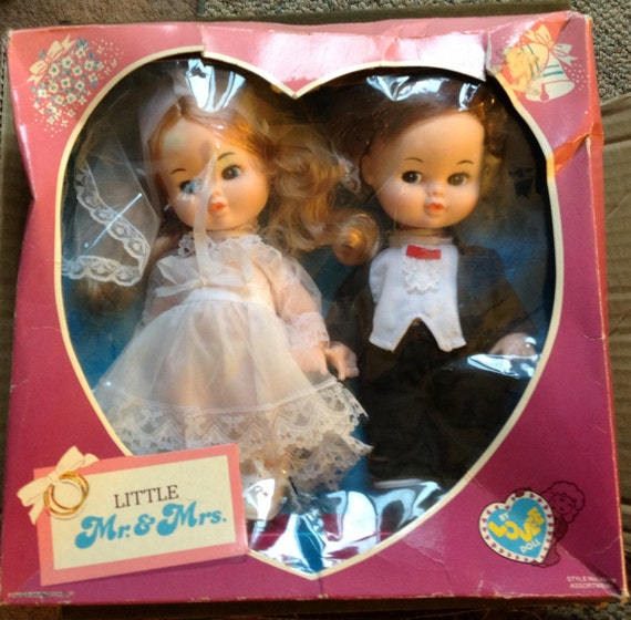 Lovee Doll Amp Toy Co : Little mr and mrs brode groom dolls lovee doll toy