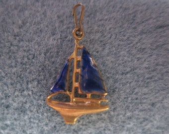 Adorable Sailing Ship Charm