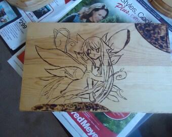 Fairy wood burning