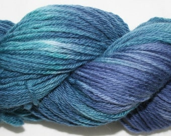 Hand Painted 100% Superwash BFL Wool  DK Weight Yarn (96)