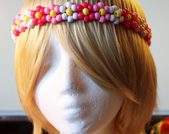Cute flower band Kandi daisy chain hairband New Lower Price