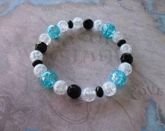 light blue quartz bracelet