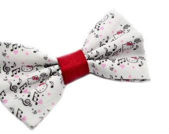 Hello Kitty Music Hair Bow