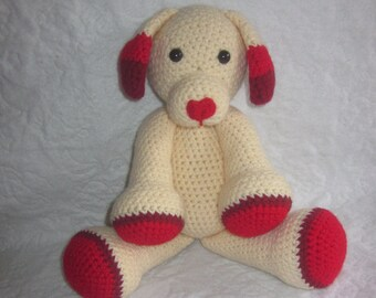 Sweetheart the Valentine's Day Puppy Crochet Pattern