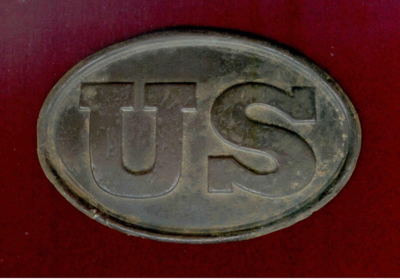 U S Civil War Union Belt Buckle