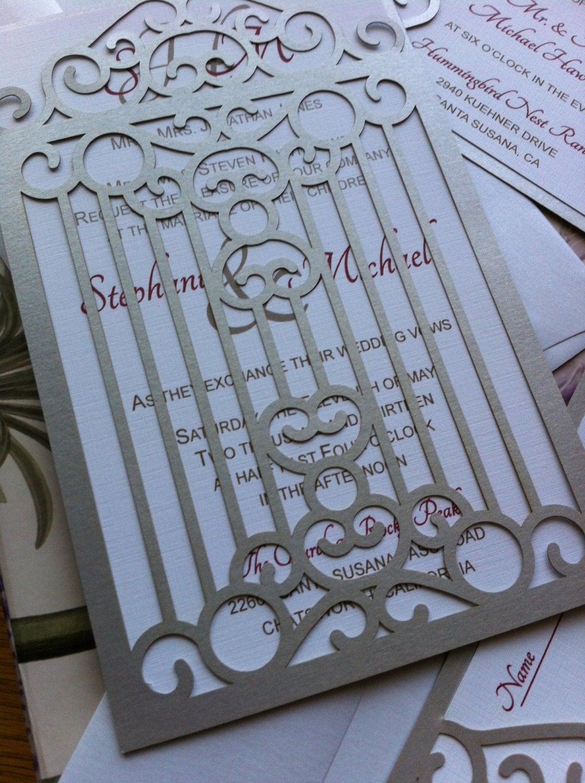 gates unique wedding invitation laser cut With laser cut wedding invitations bangalore