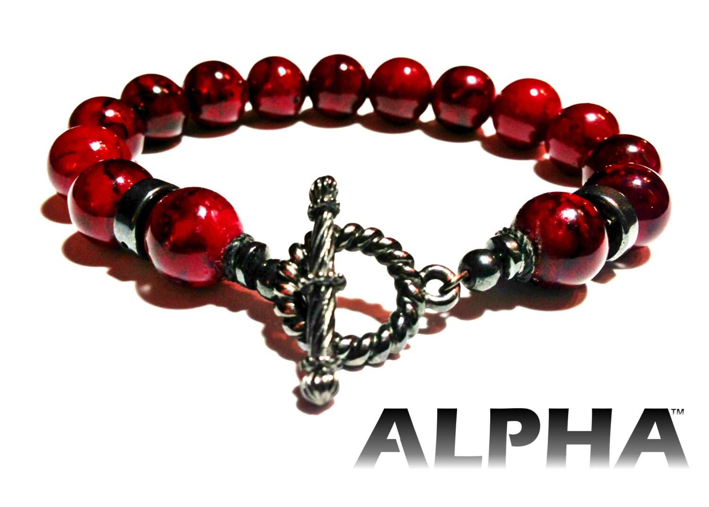 Red Hematite Beads Red Jasper with...