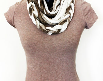 Sand Colored Scarf  #36