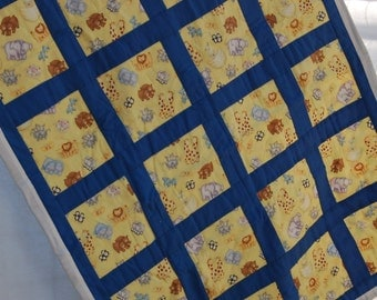 Two by Two Baby quilt